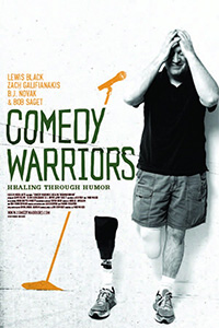 Follow Comedy Warriors on Facebook to show progress.