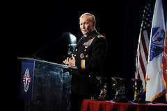 Chairman of the Joint Chiefs of Staff General Martin Dempsey joined us for the third year in a row.