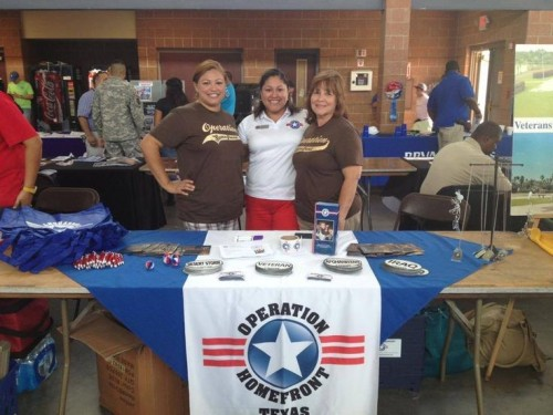 Every day, our volunteers are out in the community raising awareness of our mission and support for military families