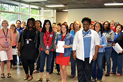 Operation Homefront staff in San Antonio helped welcome some of our newest AmeriCorps members to our organization. We're looking forward to a great year of helping military families.