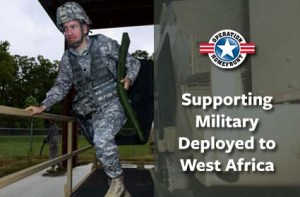 Families of Troops Deployed to Africa Ebola Mission are Eligible for Assistance from Operation Homefront