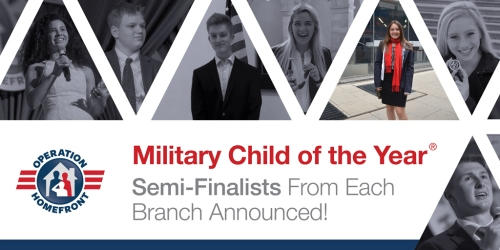 Operation Homefront is thrilled to announce the 96 semifinalists for the  2019 Military Child of the Year® (MCOY) Award. 0b53b6f76adf