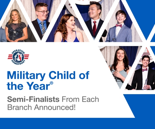 Military Child of the Tear 2020-Semifinalists